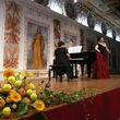 Recital in Schloss Ambrass, Innsbruck, with Anna Khachatryan (piano)